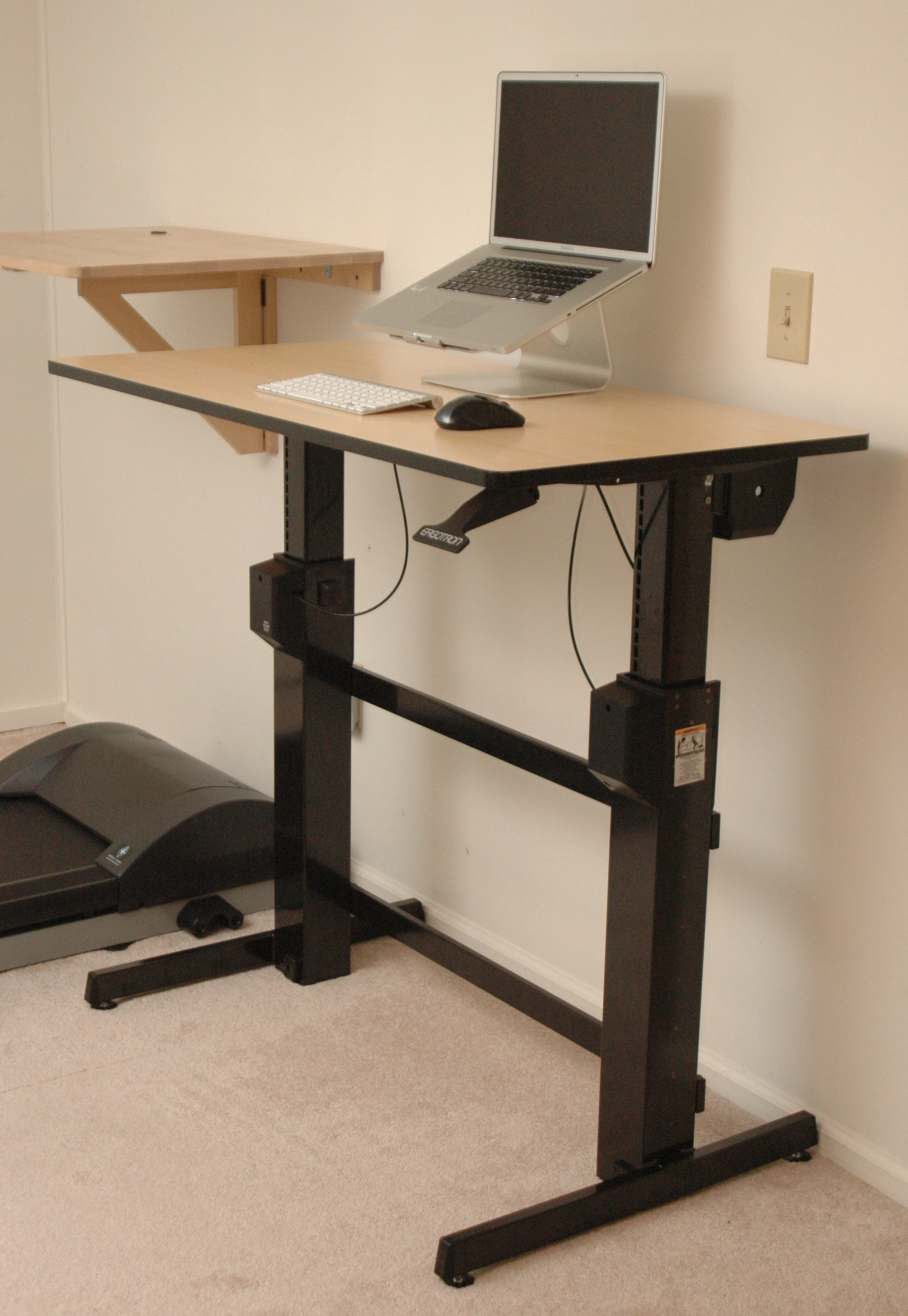 Ergotron WorkfitD SitStand Desk review DeskHacks